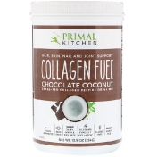 Primal Kitchen Collagen Fuel Grass-Fed Collagen Peptide Drink Mix Chocolate Coconut 13.9 oz (394 g)