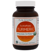 The Synergy Company Organic SuperPure Turmeric Extract 60 Organic Vegetarian Caps