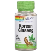 Solaray Korean Ginseng 550 mg 100 VegCaps