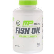 MusclePharm Рыбий жир Essentials 180 гелевых капсул