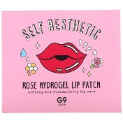 G9skin Self Aesthetic Rose Hydrogel Lip Patch 5 Patches 0.10 oz (3 g)