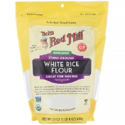 Bob's Red Mill Organic White Rice Flour 24 oz (680 g)