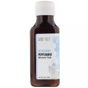 Aura Cacia Shower Salt Refreshing Peppermint 16 oz (454 g)