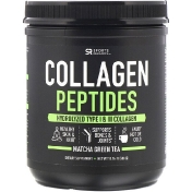 Sports Research Collagen Peptides Hydrolyzed Type I & III Matcha Green Tea 10.16 oz (288 g)