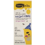 Comvita Comvita Kids Night-Time Soothing Syrup with Chamomile UMF 10+ Manuka Honey Grape Flavor 4 fl oz (118 ml)