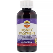 Sundown Naturals Kids Honey Soothers Nighttime Cough Syryp Buzzin' Berry 4 oz (118 ml)