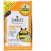 Zarbee's Children's Cough Syrup Dark Honey On-the-Go Natural Grape Flavor 10 Single Serve Packs 1.7 fl oz (50 ml)