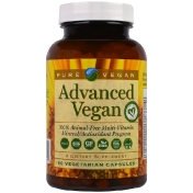 Pure Vegan Advanced Vegan 60 Vegetarian Capsules