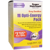 Super Nutrition Opti-Energy Pack Multivitamin/Multimineral Supplement Iron-Free 90 Packets (4 Tabs Each)