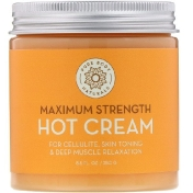 Pure Body Naturals Maximum Strength Hot Cream 8.8 fl oz (250 g)