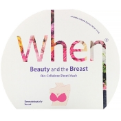 When Beauty Beauty and the Breast Bio-Cellulose Sheet Mask 2 Sheets 0.5 fl oz (15 ml) Each