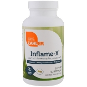 Zahler Inflame-X Advanced Inflammatory Response Support 120 Vegetable Capsules