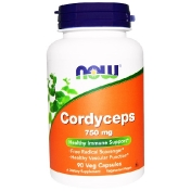 Now Foods Cordyceps 750 mg 90 Veg Capsules
