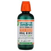TheraBreath Fresh Breath Oral Rinse Rainforest Mint 16 fl oz (473 ml)