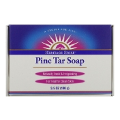 Heritage Store Pine Tar Soap 3.5 oz (100 g)