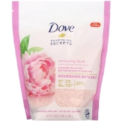 Dove Nourishing Secrets Nourishing Bath Salts Peony and Rose Scent 28 oz (793 g)