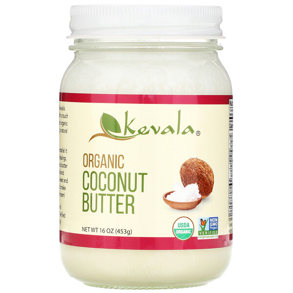 Kevala Organic Coconut Butter 16 oz (453 g)