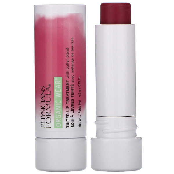 Physicians Formula Organic Wear Tinted Lip Treatment Berry Me 0.15 oz (4.3 g)
