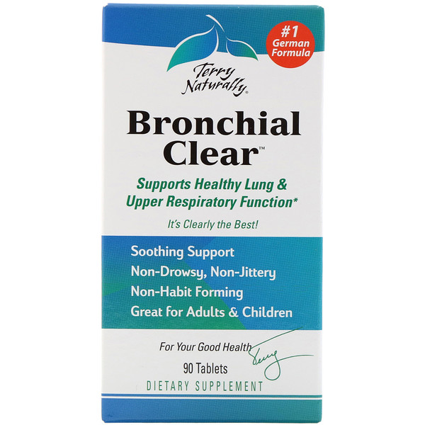 Terry Naturally Terry Naturally Bronchial Clear 90 таблеток