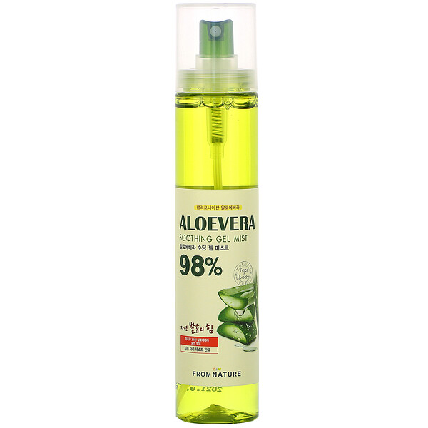 From Nature Aloe Vera 98% Soothing Gel Mist 120 ml