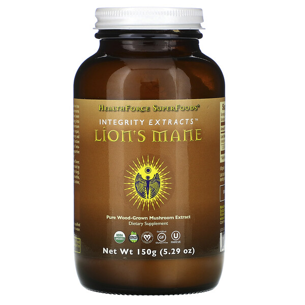 HealthForce Superfoods Integrity Extracts Lion's Mane 5.29 oz (150 g)