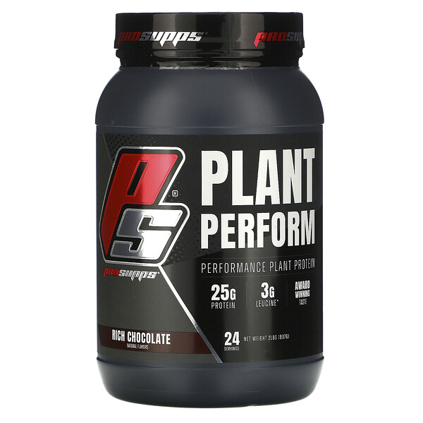 ProSupps Plant Perform Performance Plant Protein Rich Chocolate 2 lbs (907 g)