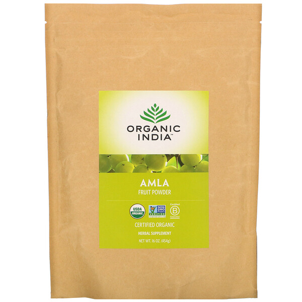 Organic India Amla Fruit Powder 16 oz (454 g)