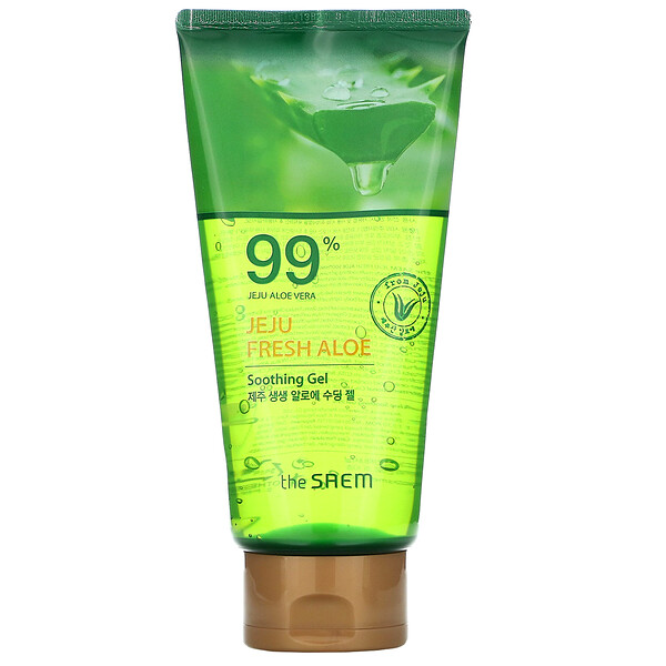 The Saem Jeju Fresh Aloe 99% Aloe Vera Soothing Gel 10.14 fl oz (300 ml)
