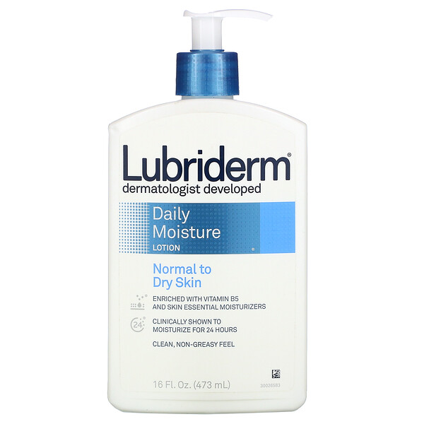 Lubriderm Daily Moisture Lotion Normal to Dry Skin 16 fl oz (473 ml)