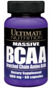 Ultimate Nutrition Bcaa Massive 60 капсул