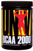 Universal Nutrition Bcaa 2000 120 капсул