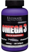 Ultimate Nutrition Omega 3 180 капсул