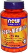 Now Beta-Alanine 750 мг 120 капсул