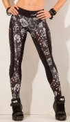LaBellaMafia Dark Roses Legging