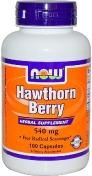 Now Hawthorn Berry 540 мг 100 капсул