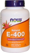 Now E-400 Mixed + Tocopherols 250 гелевых капсул