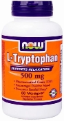 Now L-Tryptophan 500 мг 60 капсул