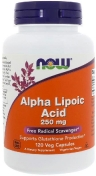 Now Alpha Lipolic Acid 250 мг 120 капсул