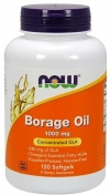 Now Borage Oil 1000 мг 120 гелевых капсул