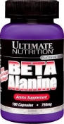 Ultimate Nutrition Beta Alanine 750 мг 100 капсул