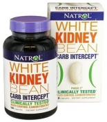 Natrol White Kidney Bean Carb Intercept 120 капсул