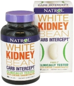Natrol White Kidney Bean Carb Intercept 60 капсул