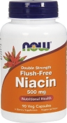 Now Niacin Flush-Free 500 мг 90 капсул