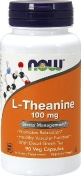 Now L-Theanine 100 мг 90 капсул