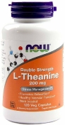 Now L-Theanine 200 мг 120 капсул