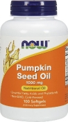 Now Pumpkin Seed Oil 1000 мг 100 гелевых капсул