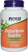 Now Odorless Garlic Extract 240 гелевых капсул