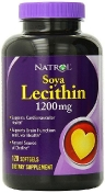 Natrol Soya Lecithin 1200 мг 120 гелевых капсул