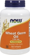 Now Wheat Germ Oil 1130 мг 100 гелевых капсул