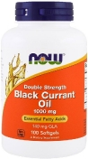 Now Black Currant Oil Double Strength 1000 мг 100 гелевых капсул
